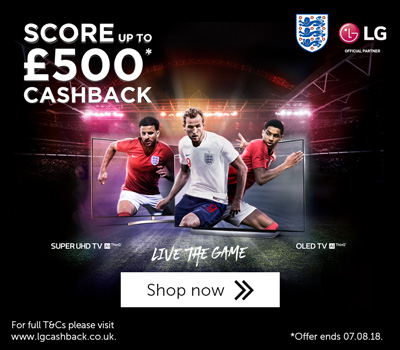 LG World Cup promo