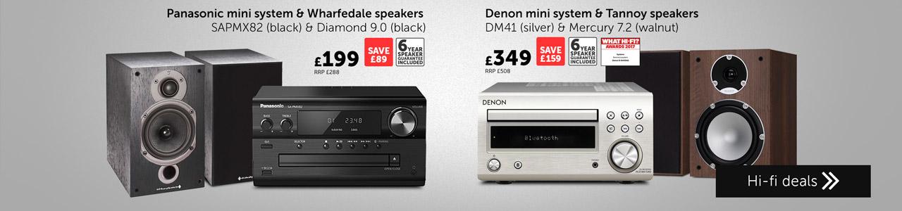 Mini hi-fi bundle deals