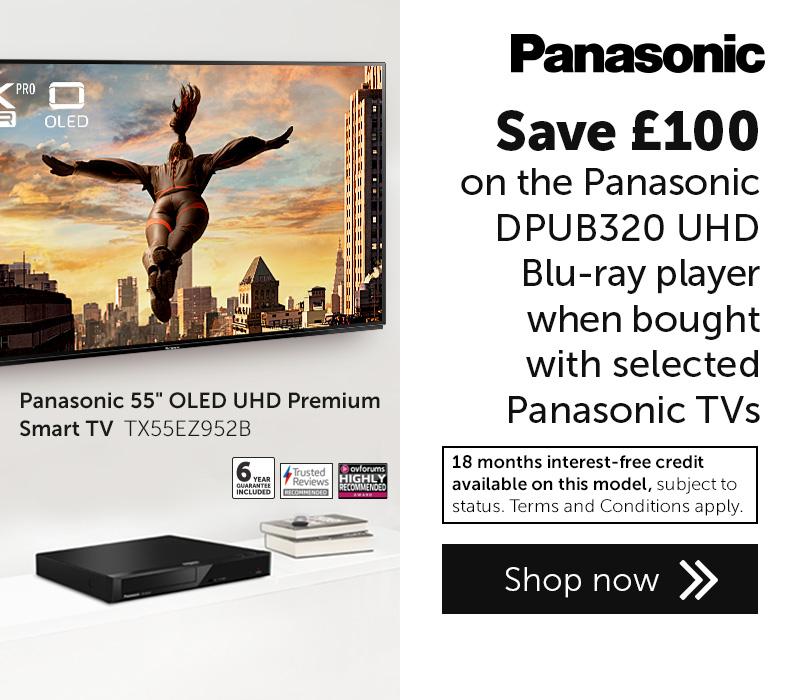 Panasonic TV DPUB320 offer