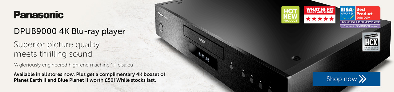 Pre-order Panasonic DPUB9000 now