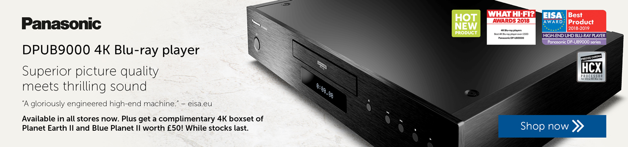 Panasonic DPUB9000 available now