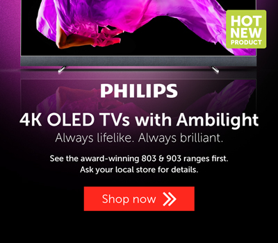 Philips 4K OLED with ambilight