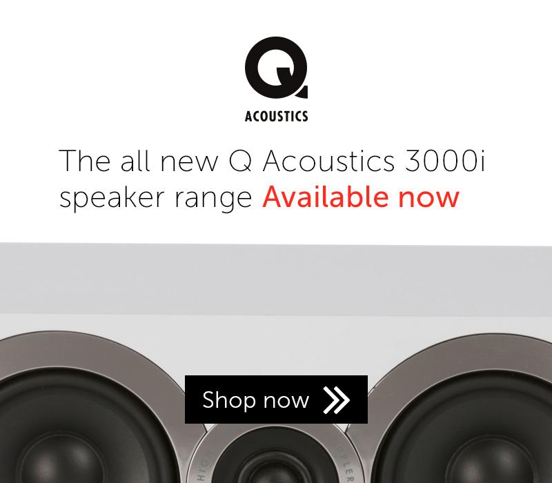 Q Acoustics 3000i speaker range