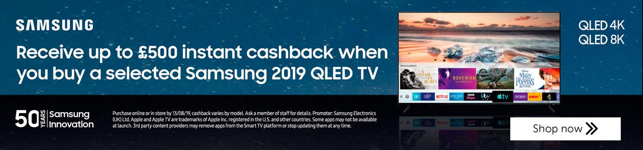 QLED 2019 Cashback