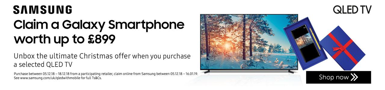Samsung QLED smart phone offer