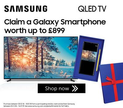 Samsung QLED smartphone offer