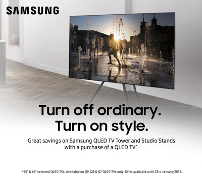 Samsung QLED TV Tower