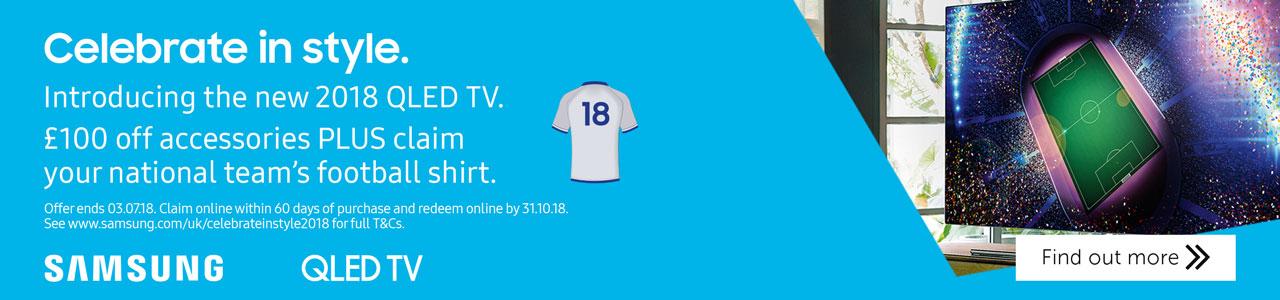 Samsung World Cup QLED promo