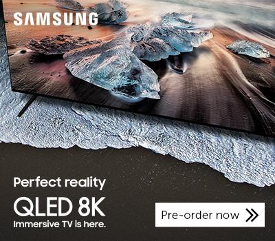 Samsung QLED 8K TV - preorder now