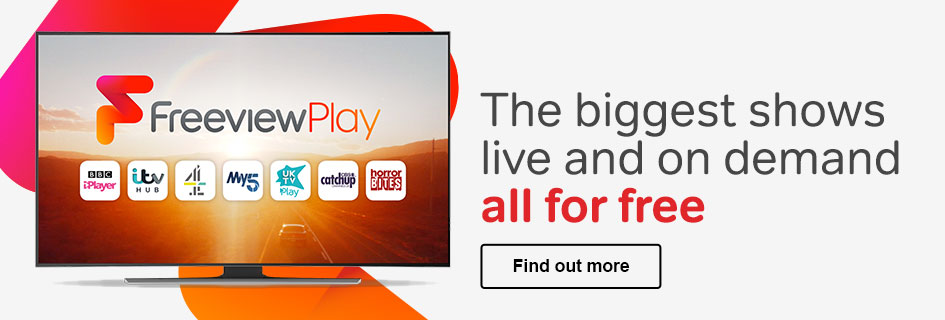 Find out more about the benefits of Freeview Play enabled TVs and recorders