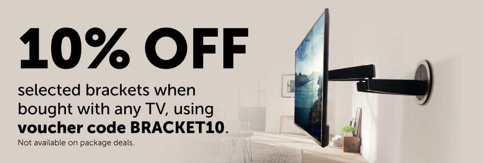 10% off selected brackets