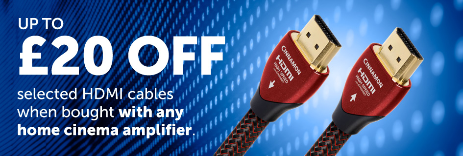 £20 off selected HDMI cables