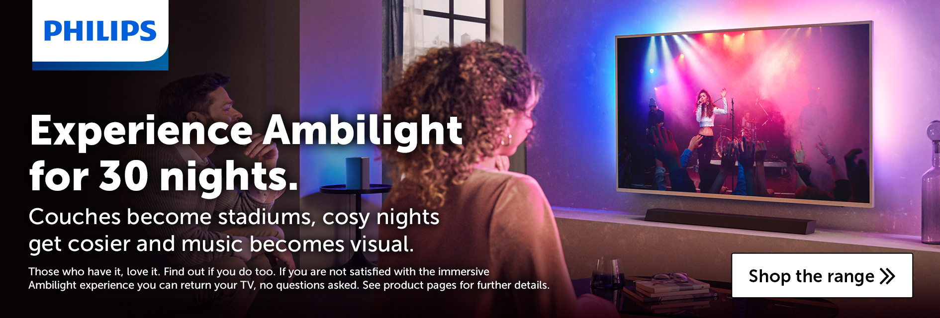 Philips Ambilight 30 night free trial
