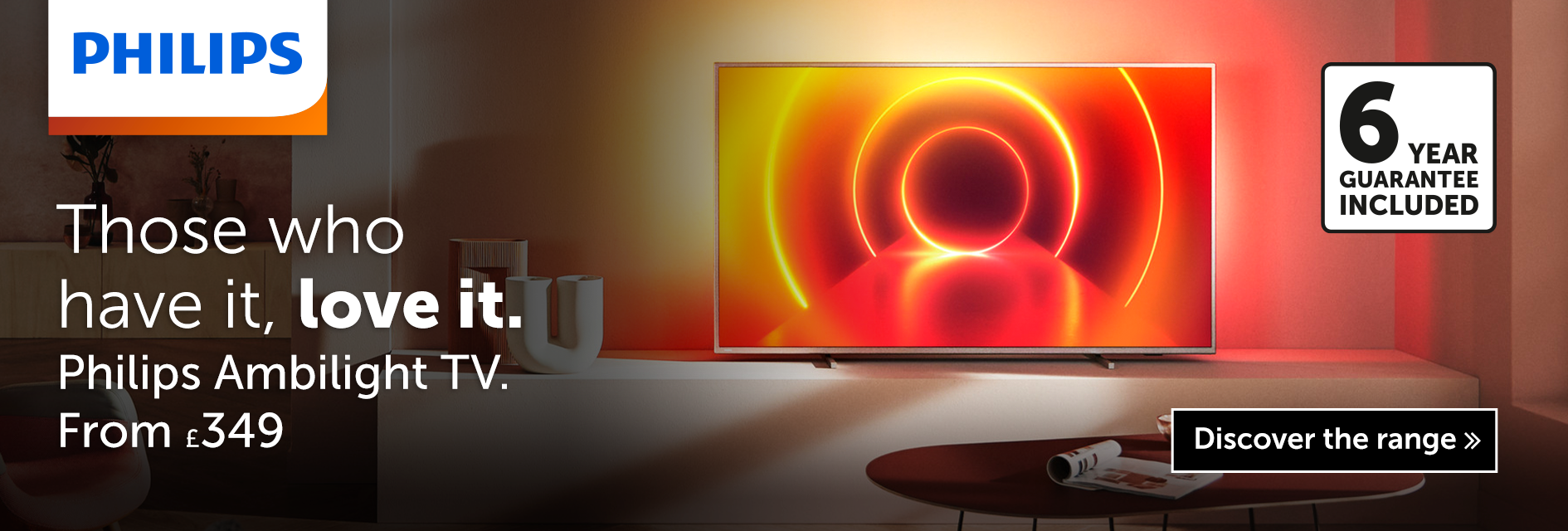 Those who have it love it - Philips Ambilight TV - From £349
