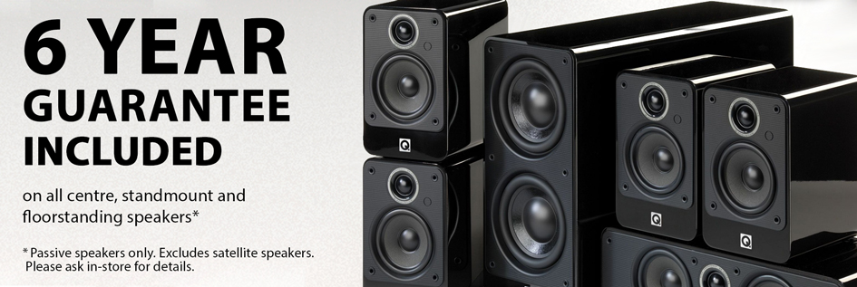 6 year speaker guarantee