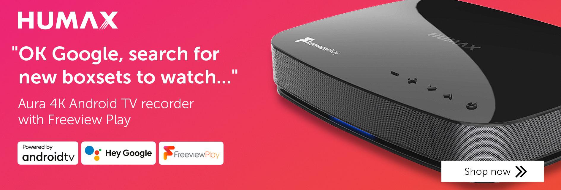 Humax Aura 4K Android TV recorder