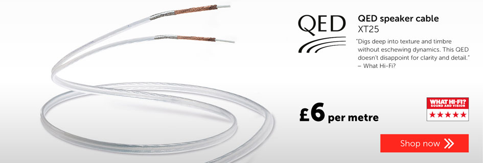 QED XT25 speaker cable
