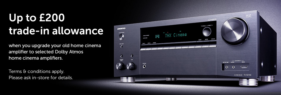 Trade up to Dolby Atmos