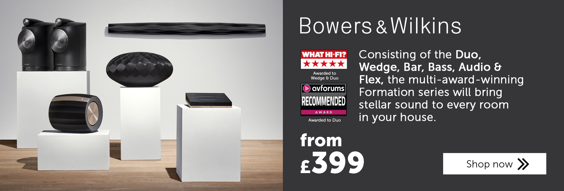 Bowers & Wilkins Formation series