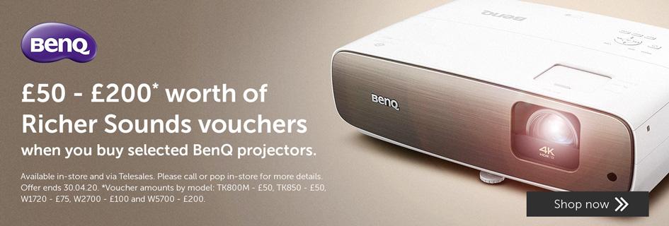 BenQ projectors offer