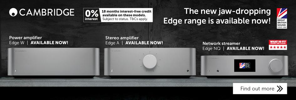 Cambridge Audio Edge range