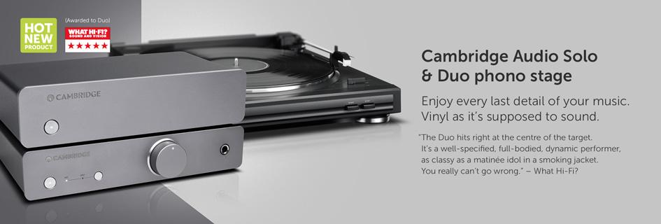 Cambridge Audio Solo & Duo