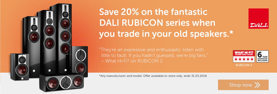 DALI RUBICON trade in offer