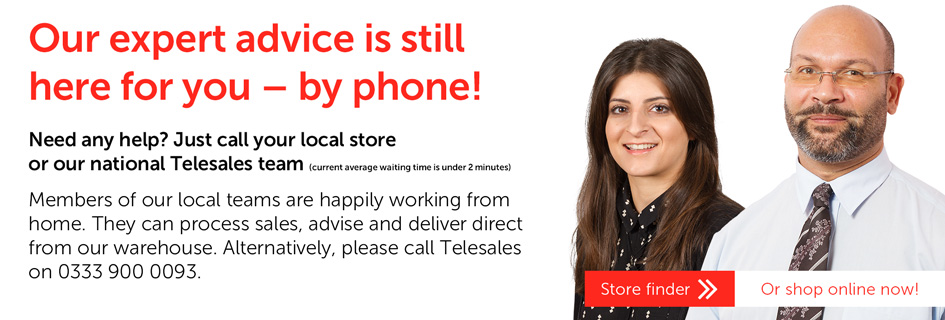 Our expert advice is still here for you - by phone!