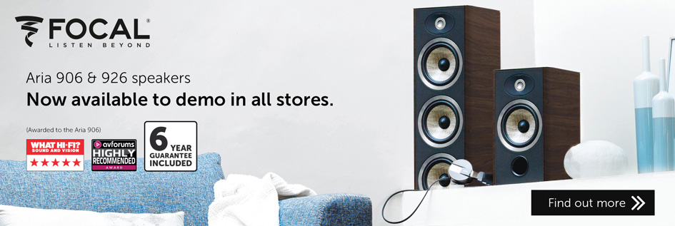 Focal Aria 906 & 926 - Now available to demo in all stores