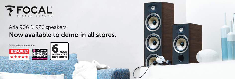 Focal Aria 906 & 926 - Now available in all stores