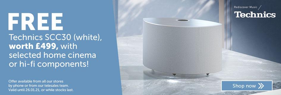Free Technics SCC30 wireless speaker