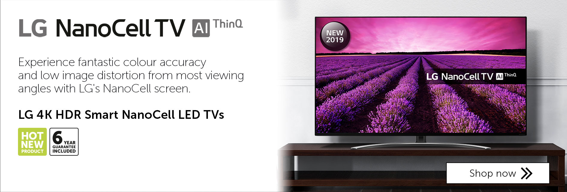 LG NanoCell TVs from £899