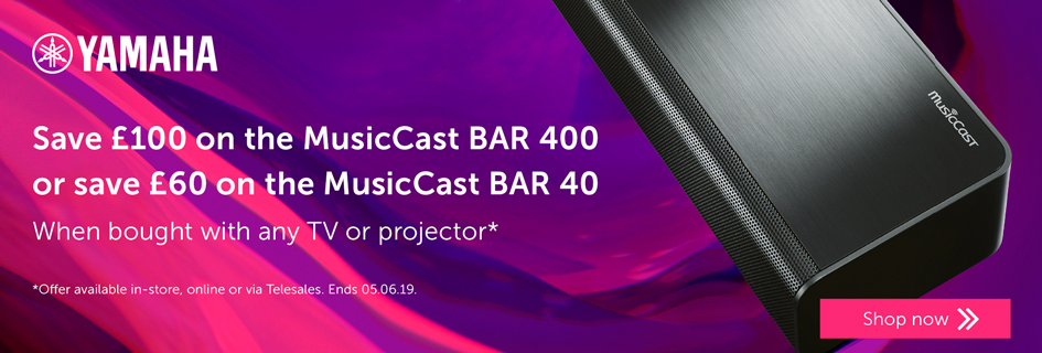 Yamaha MusicCast BAR 40 & 400 offer