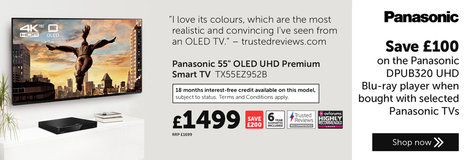 Panasonic DPUB320 Offer