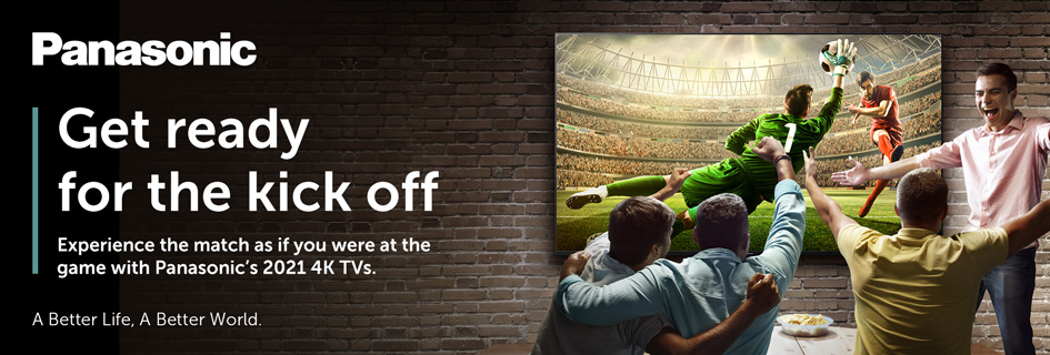 Get ready for the kick off with Panasonic