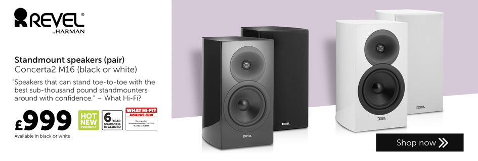 Revel Concerta2 M16 speakers