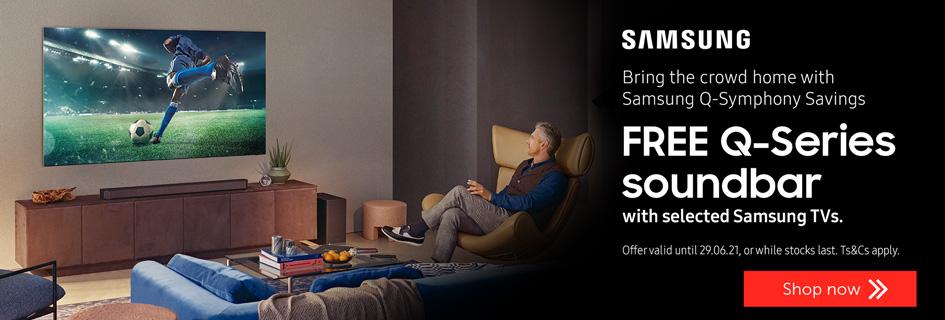 Samsung FREE Q-series soundbar with selected TVs - Soundbars