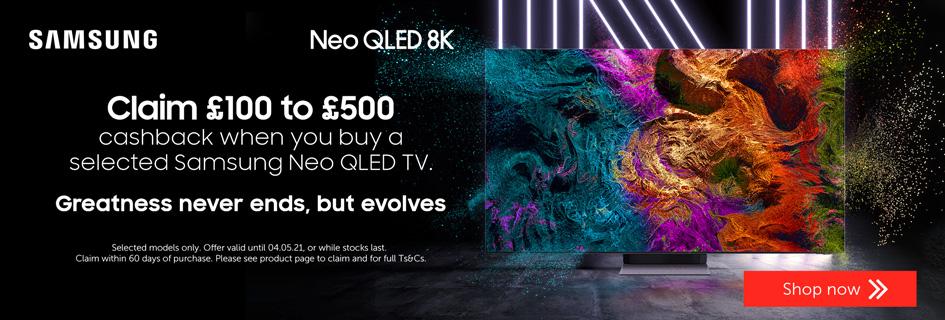 Samsung NEO QLED cashback - All TVs