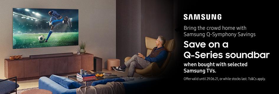 Samsung Q-Series promo
