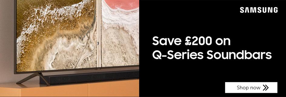 Save £200 on Samsung Q Series soundbars