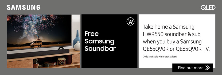 Samsung soundbar offer