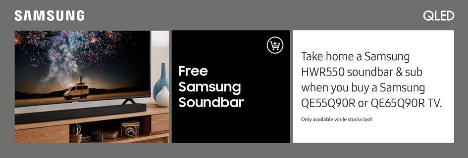 Samsung Soundbar offer