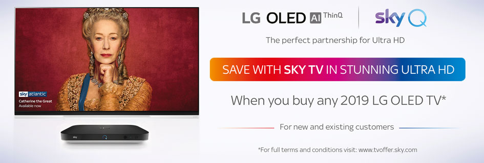 Sky TV LG OLED offer