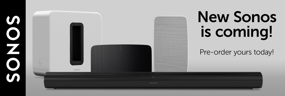 New sonos products availoable for pre-order now