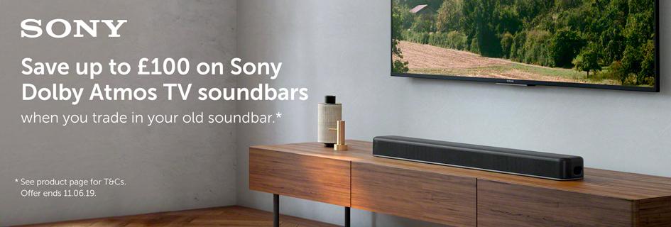 Sony soundbar trade-in