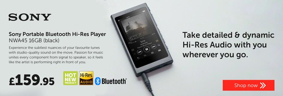 Sony NWA45 Hi-Res audio player