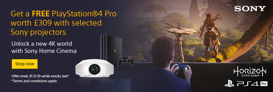 Sony PS4 Pro Projector Offer