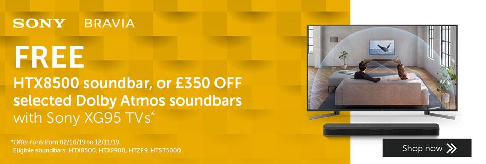 Sony soundbar promo