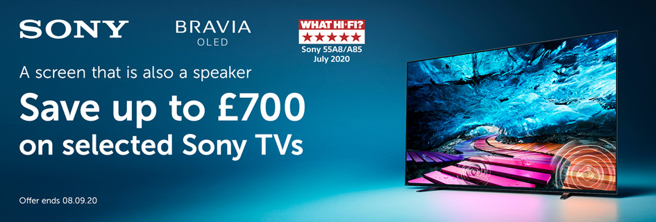 Save up to £700 on selected Sony TVs