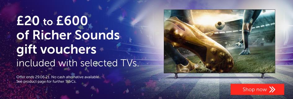 """TV Voucher promo June - All TVs"